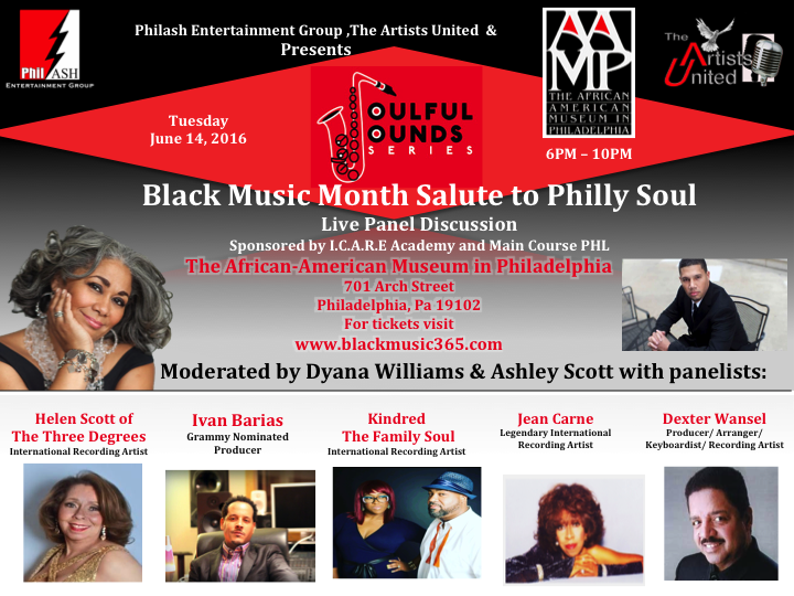 The Soulful Sounds Series Black Music Month Panel 2016